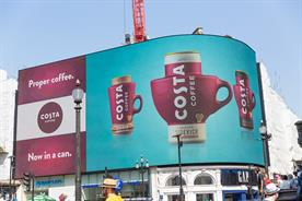 Costa Coffee takes up residence at Coke's Piccadilly Lights space