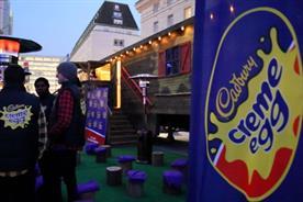 Watch: Inside Cadbury's Creme Egg London Eye pop-up lodge