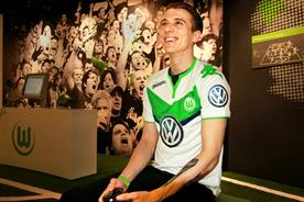 E-sports: Wolfsburg's resident FIFA player, David Bytheway