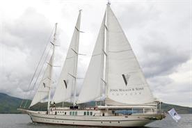 Johnnie Walker: yacht is travelling around the world