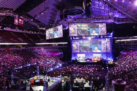 The International, an annual Dota 2 tournament. (Picture by Jakob Wells)