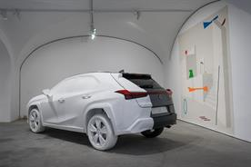 Lexus channels art to become a luxury lifestyle brand