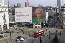 Queen: messages will appear until 19 April