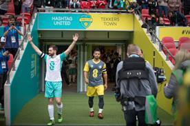 YouTubers play alongside Gerrard, Fowler, Savage in Wembley Cup with EE