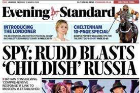 Osborne mixes history and emojis for Evening Standard's 'modern' redesign