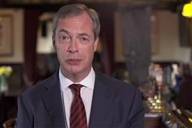 UKIP: Nigel Farage's party is leading the social media buzz around the European Elections