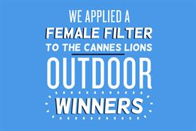 JWT teams with Creative Equals to highlight lack of gender equality at Cannes