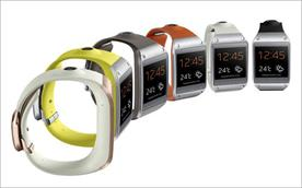 Galaxy Gear: the wearable smart device was revealed by Samsung last night