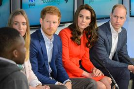Prince Harry and the Duke and Duchess of Cambridge: attend the Global Academy event
