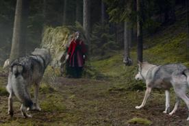 The first Green & Black's TV spot adds a twist to the Red Riding Hood tale
