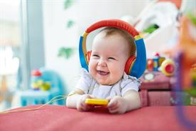 Cow & Gate creates first song scientifically tested to make babies happy