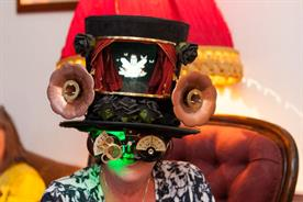 The Drinking Toppers appear to monitor the user's brainwaves (@HendricksGinUK)