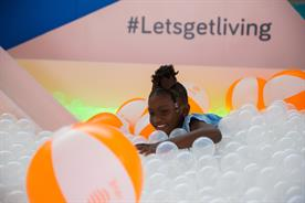 Hive targets North America market with pop-up featuring ball pit