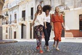 Winona Ryder and Elizabeth Olsen dance in the streets of Buenos Aires in latest H&M ad