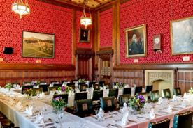 House of Commons' dining room opens for events