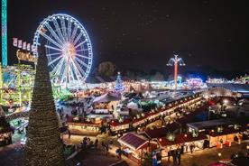 Google partners Winter Wonderland for voice-assistance experience on big wheel