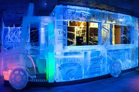 Ice Bar London is offering Christmas packages this year (image: icebarlondon.com)