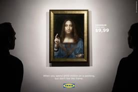 Ikea riffs on world record $450m painting in latest responsive marketing piece
