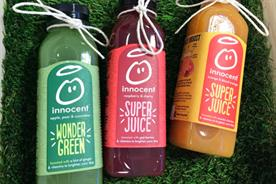 Innocent creates 'world's littlest juice bar'