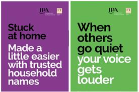 IPA runs campaign in FT calling on brands to advertise in downturn