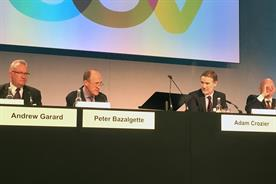 ITV AGM: Andrew Garard, Peter Bazalgette and Adam Crozier