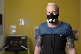 Anti-smoking: athlete Iwan Thomas shows how smoking-related diseases restrict every activities