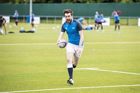 Schoolboy errors: Jack Whitehall stars in Samsung's comedy 'School of Rugby' spots