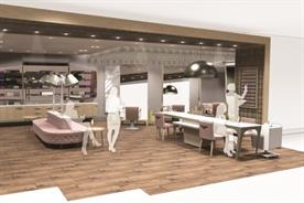 John Lewis: the retailer last year opened a concept spa to improve the shopping experience