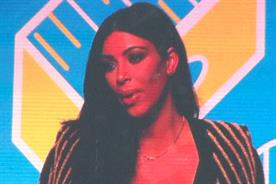 Kim Kardashian: promoting her game at Cannes Lions