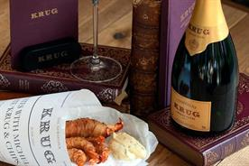 Krug will combine fish and chips with fine dining