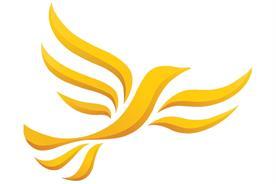 The Liberal Democrats' 'liberty bird' logo