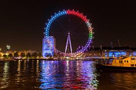 London Eye: Facebook will light up the landmark