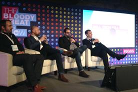 The panel line-up (left to right): Jesse Boyce, Ross Brown, Jason Snyder and Mike Soutar