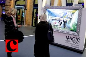 AEG's 'Magic mirror' brings AR to King's Cross Station