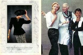 In pictures: 80s shoulder pads, men in pants and leading ladies - M&S ads through the ages