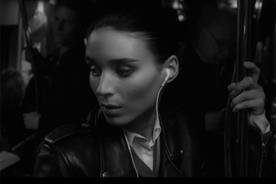 Downtown: new ad stars Rooney Mara