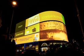 Marie Curie campaign turns Piccadilly Circus yellow