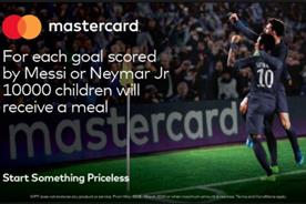 'The hunger games': Mastercard slated for 'goals-for-meals' campaign