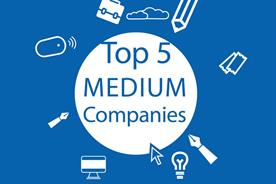 Best Places to Work 2018: top 5 medium companies