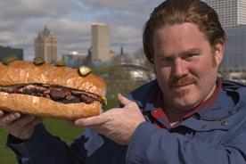 Food Network creates six-patty burger to celebrate new Man v. Food series