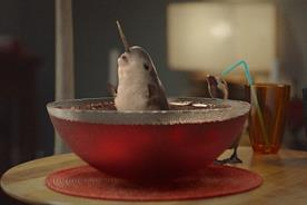 McVitie's: a narwhal is one of the stars in McVitie's Christmas TV campaign