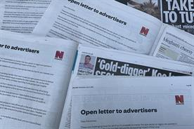 News brands set to lose £50m if advertisers continue to blacklist coronavirus
