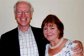 Nick Phillips: the former IPA director-general with his wife, Katherine