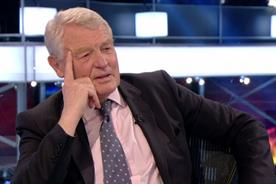 All talk and no trousers: Paddy Ashdown promises to eat his hat after shock exit polls