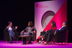 IAB Engage: (left to right) Adrian Barrick, Karen Blackett, Helen McRae, Matt Adams