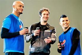 Pepsi Max unveils star football line-up for global 'Blue Card' TV ad campaign