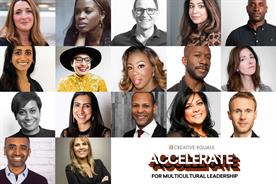 Creative Equals panel includes: Lengthorn, Sarpong, Robinson, Siddiqi, Davis, Alder, Abbassi, Amoah, Myers-Lamptey, Beale, Matadeen, Turner, Carter, Robb, Hutchison, Patel, Santos Farhat