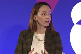 Pilar Díaz González, global brand director, Essity, speaking at Advertising Week Europe