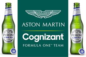 Peroni Libera signs on as brand partner for historic return of Aston Martin to F1