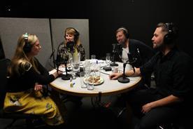 Left to right: Emma de la Fosse, Rachel Barnes, Chris Clarke and Nils Leonard